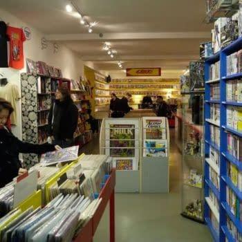 Orbital Comics of London to Stop Selling New Weekly Comics