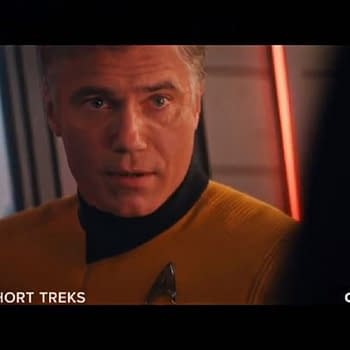Star Trek: Short Treks Season 2 Ask Not- Anson Mounts Capt. Pike Returns [TRAILER]