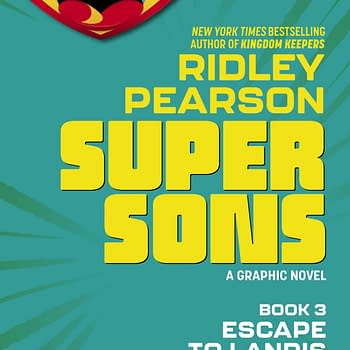 Ridley Pearson and Ileana Gonzales Third Super Sons Graphic Novel Escape to Landis
