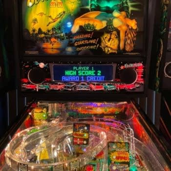 He came from the depths of the pinball lagoon!