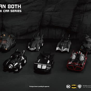 Batman Gets Pull Back Batmobiles from Beast Kingdom