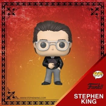 Stephen King Gets the Funko Pop Treatment with Two New Vinyls