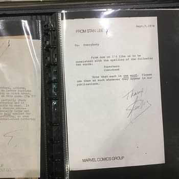 The Jim Shooter Files &#8211 Stan Lee Tells You How to Spell Super Hero and Comic Book &#8211 And Watch Out For White Lettering&#8230