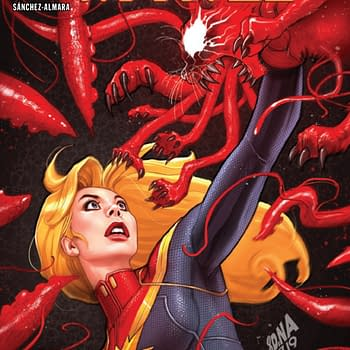 Punching a Cat in the Throat for Absolute Carnage: Captain Marvel #1