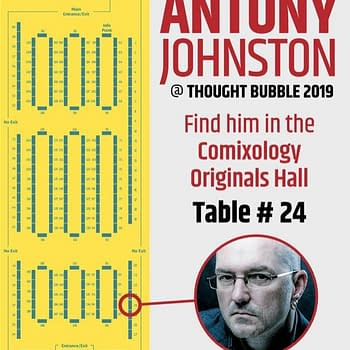 Antony Johnstons Last Ever Comic Convention Table This Weekend at Thought Bubble