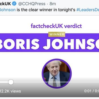 Charlie Brooker Armando Iannucci Rebrand Twitter Accounts to FactCheckUK After General Election Debate