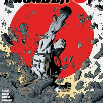 Bloodshot on a Train for Decembers Bloodshot #4 [4 Page Preview]