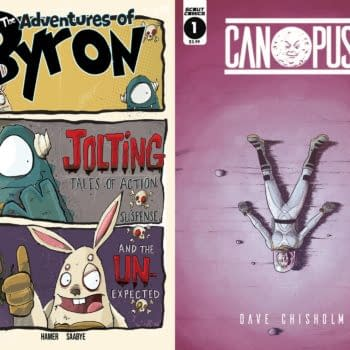 Dave Chisholm's Canopus and Chris Hamer's Adventures Of Byron Launch in Scout Comics' February 2020 Solicitations