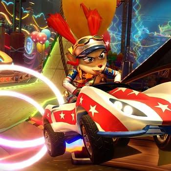 """Crash Team Racing Nitro-Fueled"" Starts The Neon Circus Grand Prix"