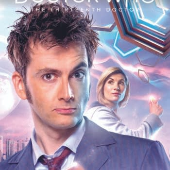 Weeping Angels Meet Autons in Jodie Whittaker/David Tennant Doctor Who Crossover For February 2020 Titan Comics Solicitations