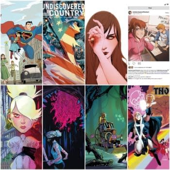 FOC CoverWatch - Undiscovered Country, Something Is Killing The Children, Thor and More