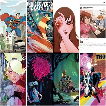 FOC CoverWatch &#8211 Undiscovered Country Something Is Killing The Children Thor and More