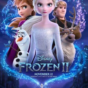 Frozen 2 Poster. Credit Disney