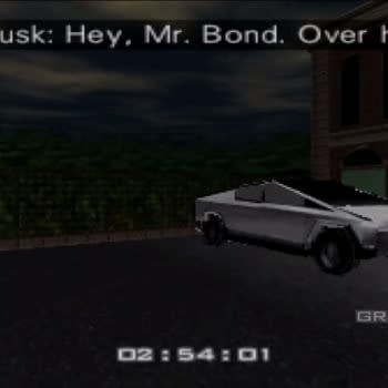 Here's What Elon Musk's Cybertruck Would Look Like in GoldenEye 007