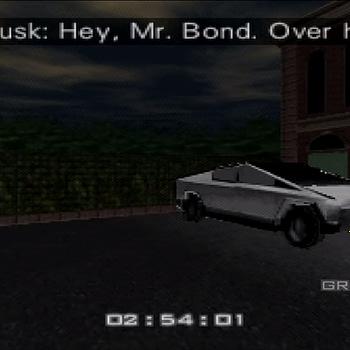 Heres What Elon Musks Cybertruck Would Look Like in GoldenEye 007