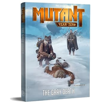 Mutant: Year Zero Gets New The Grey Death Adventure Book from Free League Publishing