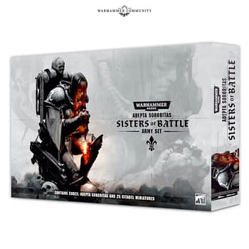 Warhammer 40k: Sisters of Battle Up for Pre-Order in ONE WEEK