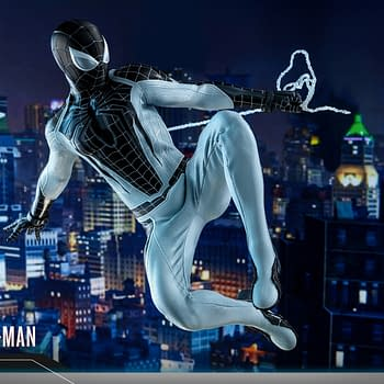 Marvels Spider-Man Goes Negative with a New Hot Toys Figure