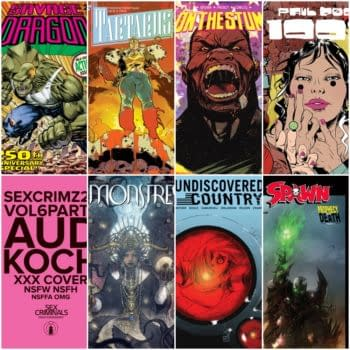 On The Stump, Tartarus and AfterRealm Quarterly and Savage Dragon #250 in Image Comics Solicitation February 2019