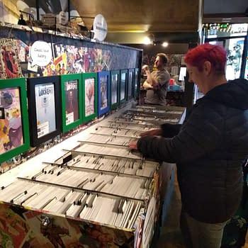 Destination Venus Harrogates Only Comic Shop is Inside the Cinema