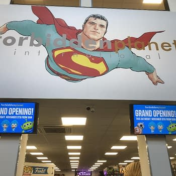 Frank Quitely Designs Fill New Forbidden Planet Comics Store Opening in Glasgow Tomorrow