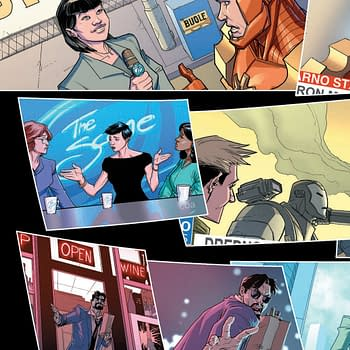 Drunk Tony Stark in Iron Man 2020 #1 Extended Preview&#8230