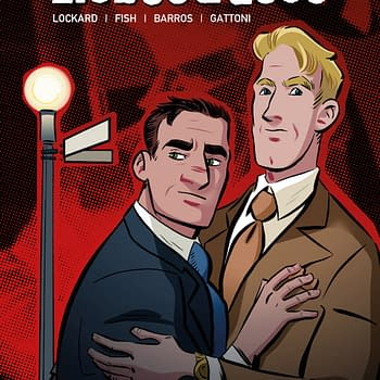 ComiXology Announces Liebestrasse an LGBTQ Love Story Set in Nazi Germany