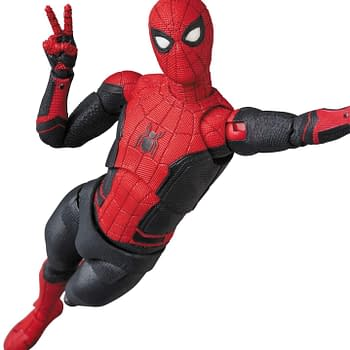 Spider-Man Has his Upgraded Suit Ready for Action with MAFEX