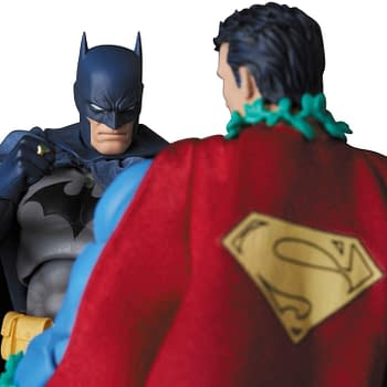 Superman Gets His Hush Appearance from MAFEX