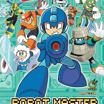 Mega Man: Robot Master Field Guide Is Getting A Hardcover Release