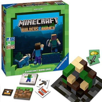 Minecraft: Builders &#038 Biomes Brings the Action to (Board Game) Life