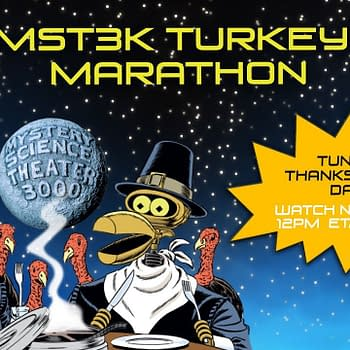 MST3K Announces Their Annual Turkey Day Event For 2019