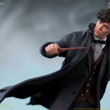 Newt Scamander is Ready for Anything with New Soap Studio Figure