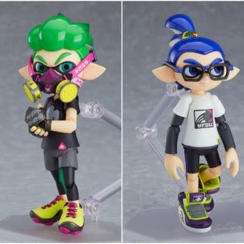 """""""Splatoon"""" Paints Its Way to Victory with New Figma Set"""