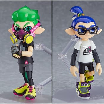 Splatoon Paints Its Way to Victory with New Figma Set