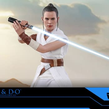 Star Wars: Rise of Skywalker Rey and D-O Coming From Hot Toys