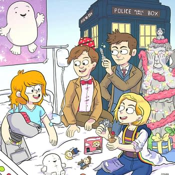 The Tenth Eleventh and Thirteenth Doctors in New Doctor Who: Christmas Special for ComicBooks For Kids