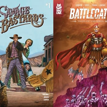 Savage Bastards and Battlecats Launch in Mad Cave Studios February 2020 Solicitations