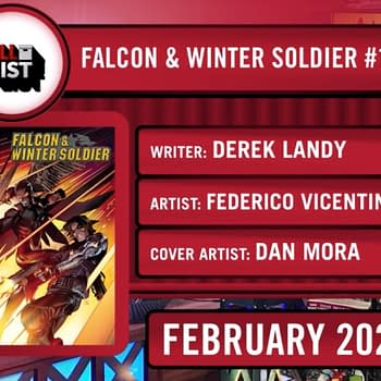Derek Landy and Federico Vicentini Launch New Falcon &#038 Winter Soldier Series at Marvel in February