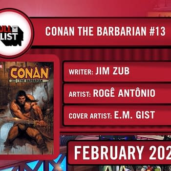 Jim Zub Graduates to Marvels Conan The Barbarian Ongoing Series in February