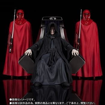 The Emperor Shows the True Power of the Darkside with S.H. Figuarts