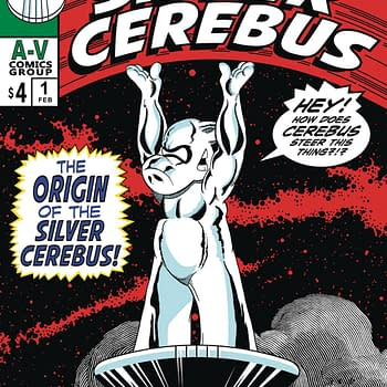 Dave Sim Mashes Up Silver Surfer and Cerebus for The Silver Cerebus