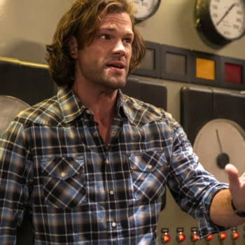 """Supernatural -- """"Proverbs 17:3"""" -- Image Number: SN1505A_0594b.jpg -- Pictured: Jared Padalecki as Sam -- Photo: Colin Bentley/The CW -- © 2019 The CW Network, LLC. All Rights Reserved."""