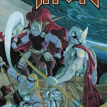Jason Aaron Reunites With Chris Burnham Esad Ribic Nicolas Pitarra Olivier Coipel and Steve Skroce On King Thor #4 Finale