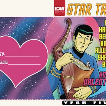 Transformers Napoleon Dynamite and Star Trek Get Valentines Day Specials in IDW February 2020 Solicitations