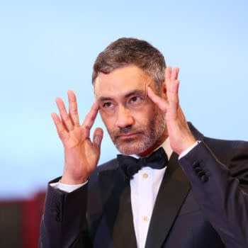 Taika Waititi walks the red carpet ahead of the 'At Eternity's Gate' screening during the 75th Venice Film Festival at Sala Grande on September 3, 2018 in Venice, Italy. Editorial credit: Denis Makarenko / Shutterstock.com