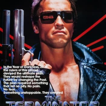 Potts ShoThe official poster for The Terminator. Credit: 20th Century Fox.ts: Terminator
