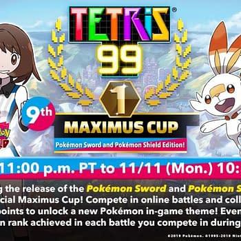 Tetris 99 Will Host A Pokémon Sword &#038 Pokémon Shield Maximus Cup