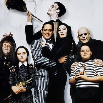 The Addams Family: Tim Burton Smallville Team Reportedly Eye Series