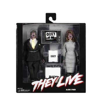 They Live NECA 2 Pack Final Packaging Shots Revealed